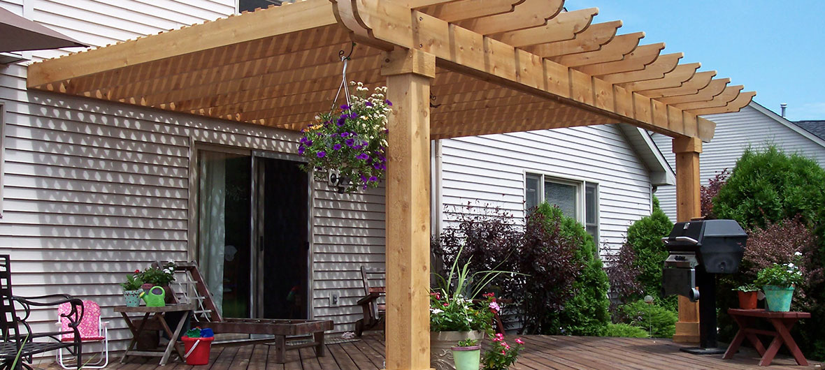 Pergolas, gazebos and other outdoor structures